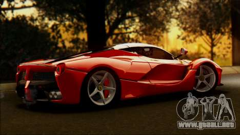 Ferrari LaFerrari 2014 para GTA San Andreas left