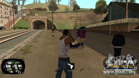 C-HUD Kings of Rap para GTA San Andreas tercera pantalla