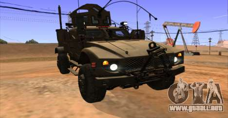 M-ATV из de Call of Duty: Ghosts para visión interna GTA San Andreas