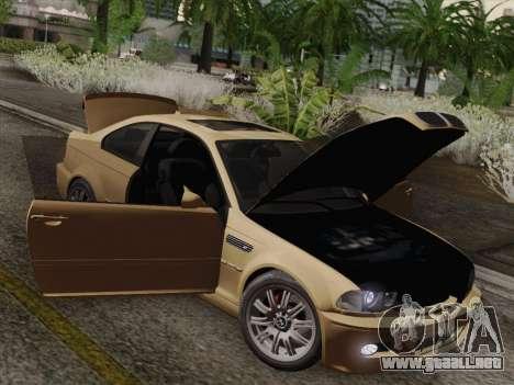 BMW M3 E46 2005 para la vista superior GTA San Andreas