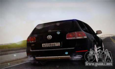 Volkswagen Touareg 2010 para GTA San Andreas left