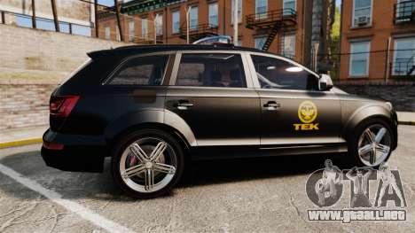 Audi Q7 TEK [ELS] para GTA 4 left