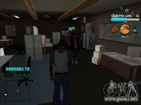 C-HUD new A.C.A.B para GTA San Andreas séptima pantalla