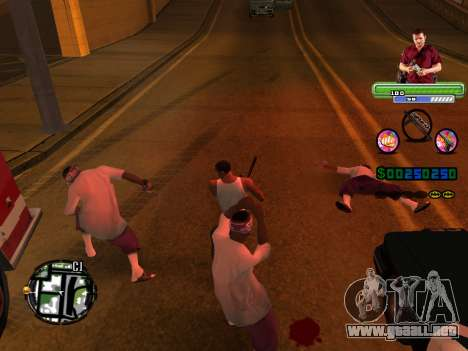 C-HUD Michael (GTA V) para GTA San Andreas