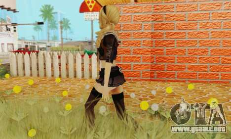 Babydoll Skin para GTA San Andreas quinta pantalla