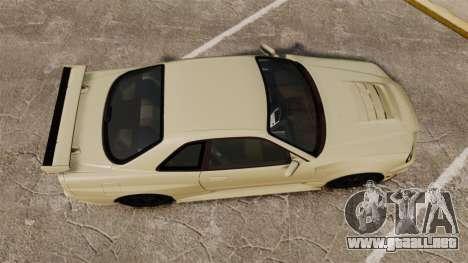 Nissan Skyline R34 Nismo Z-Tune para GTA 4 visión correcta