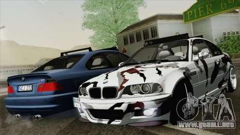 BMW M3 E46 Camo para GTA San Andreas
