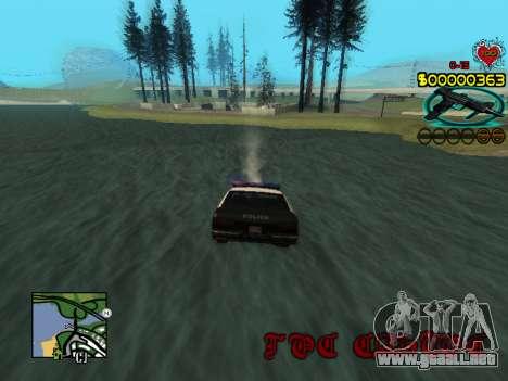 C-HUD Guns para GTA San Andreas sexta pantalla