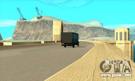 Nueva represa Sherman para GTA San Andreas tercera pantalla