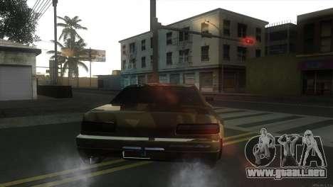 Elegy Fail Crew by Black para GTA San Andreas vista posterior izquierda