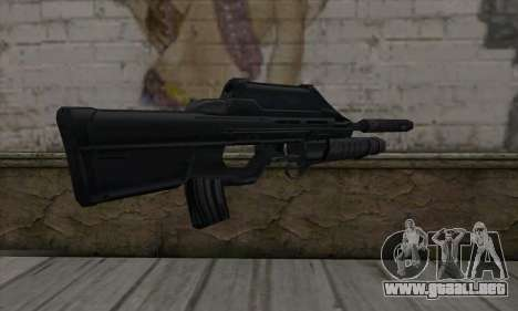 SC-20K Assault Rifle para GTA San Andreas segunda pantalla