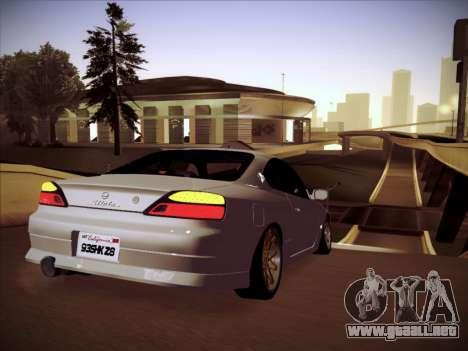 Nissan Silvia S15 Stanced para la visión correcta GTA San Andreas