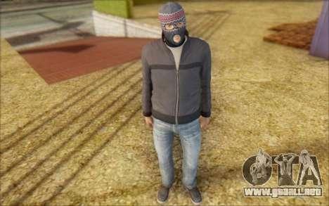 Russian Thug para GTA San Andreas segunda pantalla