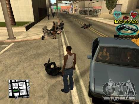 C-HUD Guns para GTA San Andreas séptima pantalla