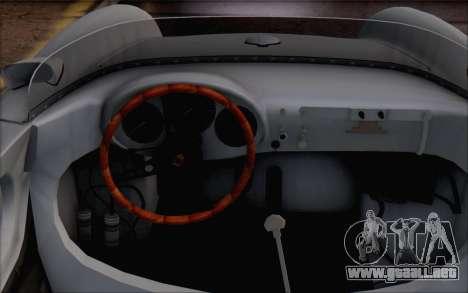 Porsche 550 Spyder 1955 para la visión correcta GTA San Andreas