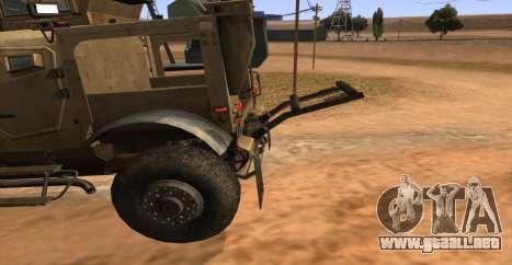 M-ATV из de Call of Duty: Ghosts para la visión correcta GTA San Andreas