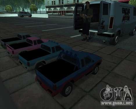 RC Pickup Off Road para la visión correcta GTA San Andreas
