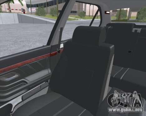 BMW 7-series E38 para GTA San Andreas vista hacia atrás