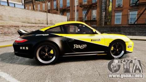 Porsche 911 Sport Classic 2010 RACE para GTA 4 left