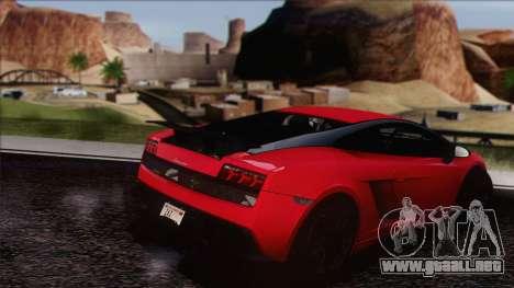 Lamborghini Gallardo LP570-4 Edizione Tecnica para la visión correcta GTA San Andreas