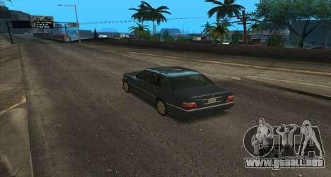 ENB Series for SA:MP para GTA San Andreas sexta pantalla