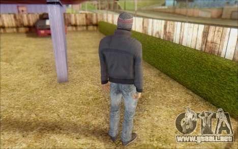 Russian Thug para GTA San Andreas tercera pantalla