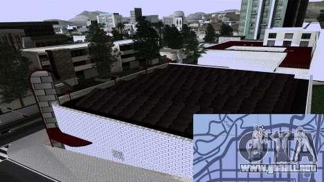 New TransFender para GTA San Andreas quinta pantalla