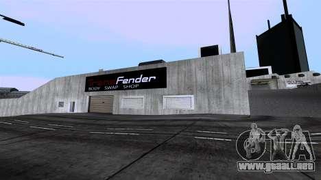 New Wang Cars para GTA San Andreas segunda pantalla