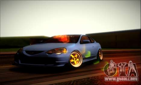 Acura RSX Stance para la visión correcta GTA San Andreas