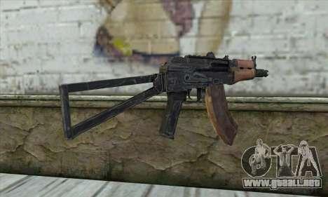 AKC-74У para GTA San Andreas segunda pantalla