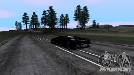 New Roads v1.0 para GTA San Andreas quinta pantalla