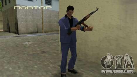 Kalashnikov Modernizado para GTA Vice City sexta pantalla