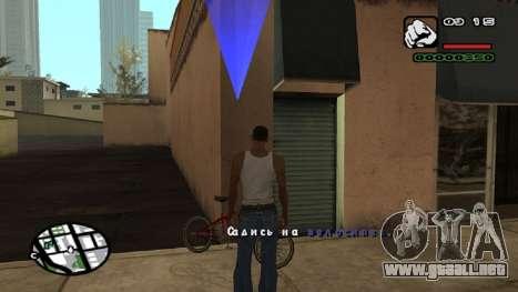 Fuente nueva V.2 para GTA San Andreas sexta pantalla