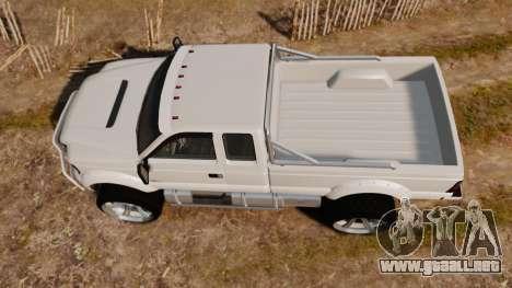 GTA V Vapid Sandking XL wheels v1 para GTA 4 visión correcta
