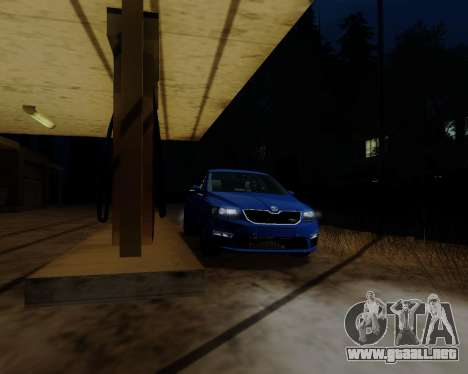 Skoda Octavia A7 RS para GTA San Andreas left