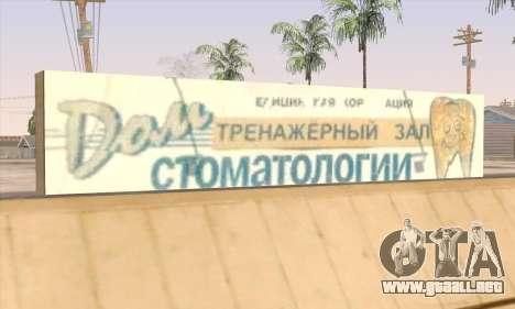 Tienda De Alimentos Saludables para GTA San Andreas sexta pantalla