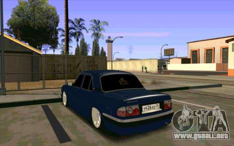 GAZ 31105 para visión interna GTA San Andreas