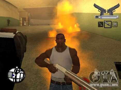 С-HUD por MoLoT para GTA San Andreas sucesivamente de pantalla