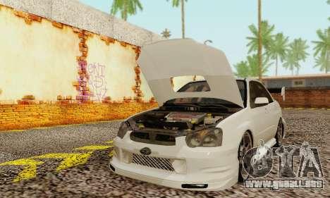 Subaru Impreza WRX Stock para GTA San Andreas left