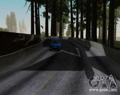 Skoda Octavia A7 RS para vista inferior GTA San Andreas