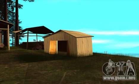 Casas nuevas en el PANÓPTICO para GTA San Andreas tercera pantalla