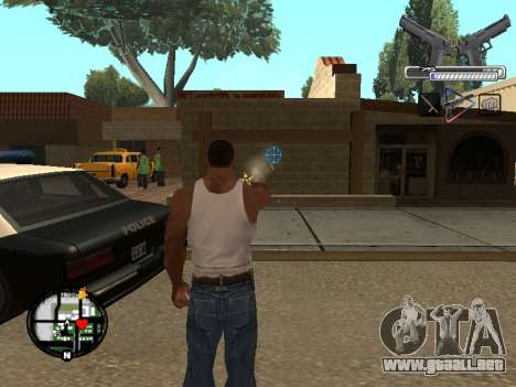 С-HUD por MoLoT para GTA San Andreas segunda pantalla