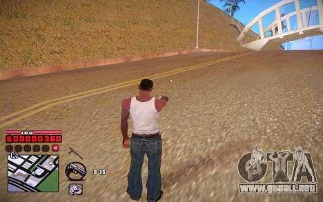 C-HUD by ComPot para GTA San Andreas quinta pantalla