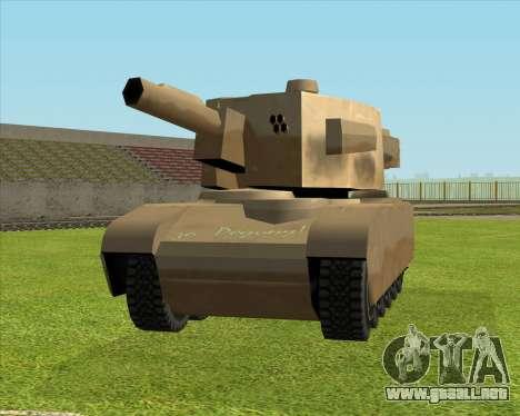 Rhino tp. Destructivo V.2 para GTA San Andreas