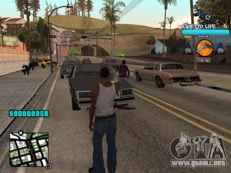 C-HUD new A.C.A.B para GTA San Andreas tercera pantalla