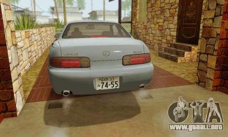 Lexus SC300 v1.01 [ImVehFT] para la vista superior GTA San Andreas