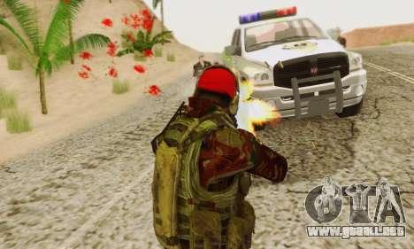 Blood On Screen para GTA San Andreas séptima pantalla