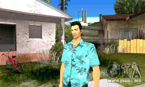 El sonido de GTA SA después de completar la misi para GTA Vice City