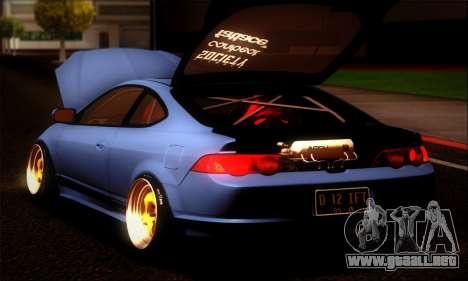 Acura RSX Stance para GTA San Andreas left