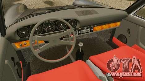 Porsche 911 Targa 1974 [Updated] para GTA 4 vista interior